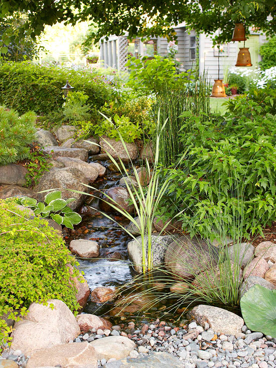 Water feature for your garden for Garden features for small gardens