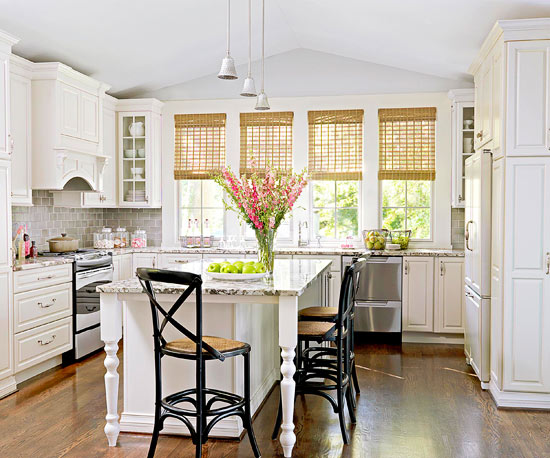 Cottage kitchen design and decorating for Cottage style kitchen design