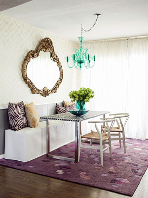 Mirrors Are Perfect Decorative Pieces To Hang On The Walls In A Dining Room.  They Add Sparkle And Shine To An Already Special Place.