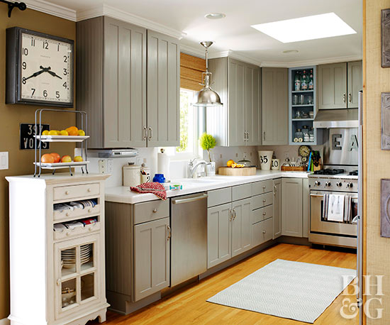 Kitchen color trends for Kitchen colour palette ideas