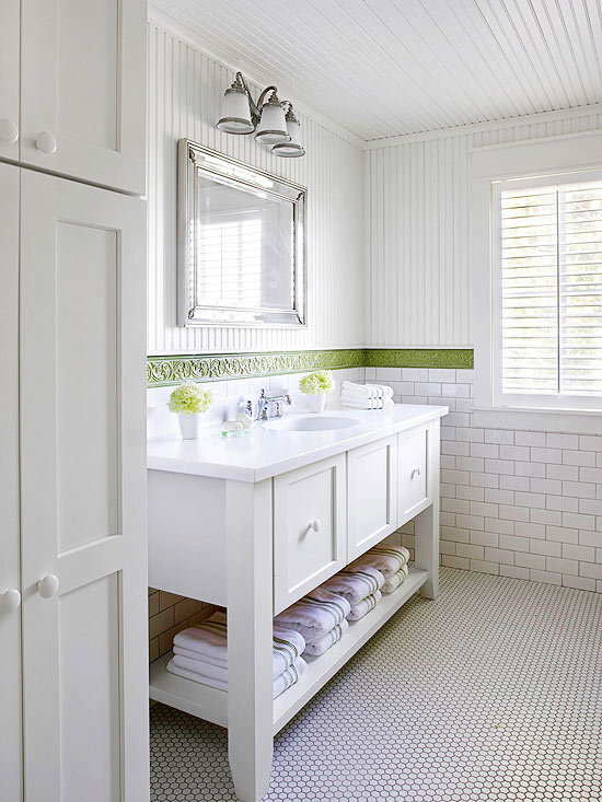 5 Ways to Create a Cottage Bath