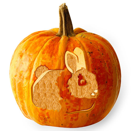 Free woodland theme pumpkin stencils from better homes and