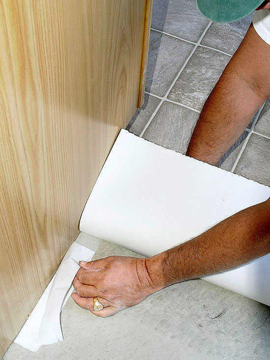 vinyl installation can be a simple diy project peel and stick vinyl floor tiles are easy to install but create many seams where water can seep under the - Easy To Install Kitchen Flooring