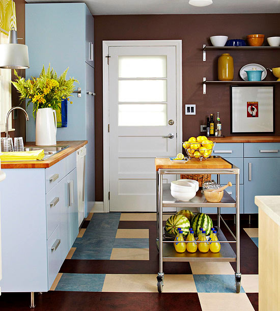 Kitchen Design Ideas For Small Kitchens November 2012: Small-Space Kitchen Island Ideas