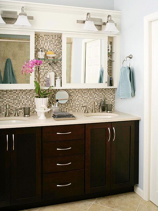DIY Bathroom Cabinet