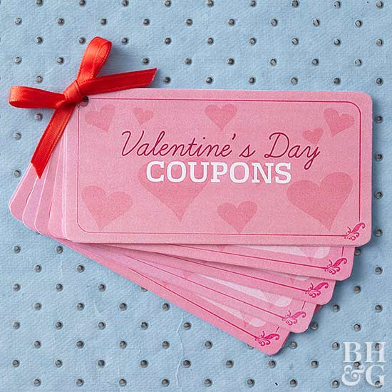 Downloadable Valentine\'s Day Coupons
