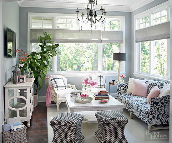 create an entertainment zone - Sunroom Design Ideas