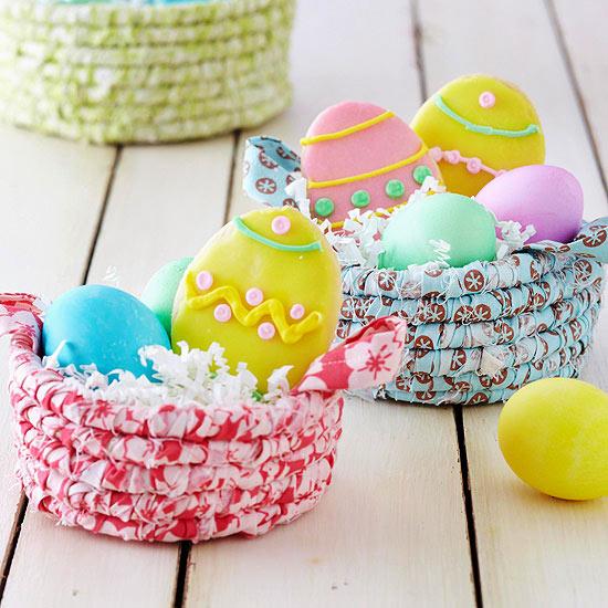 Easter treat basket easy easter basket ideas negle Images