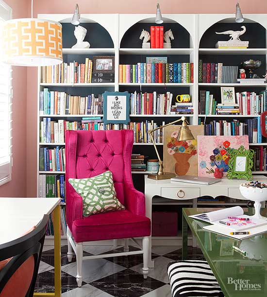 Stylish Book Nook