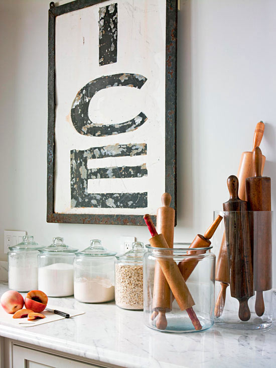 Kitchen organization storage tips