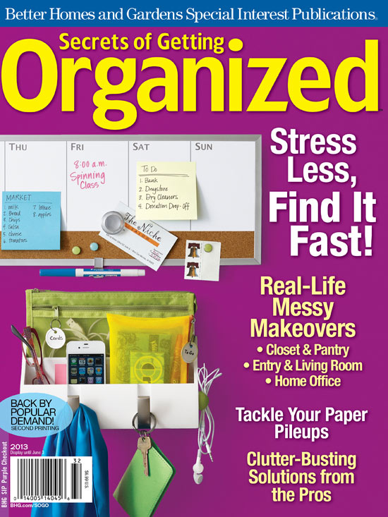 Secrets of Getting Organized 2013 Resources