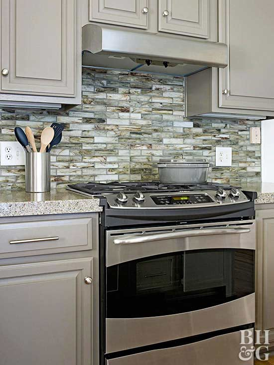 black backsplash ideas