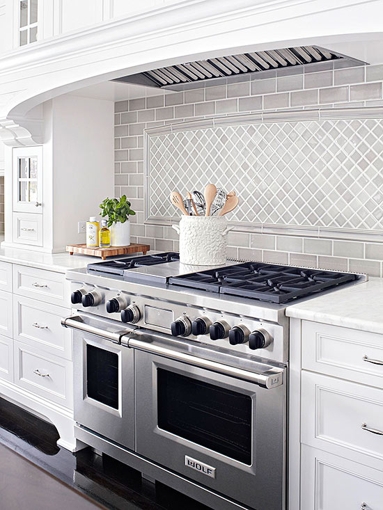 Kitchen backsplash tile Kitchen backsplash ideas bhg