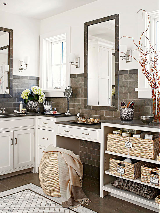 4 Ways To Use Bathroom Baskets