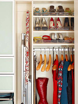 But the vast majority of all closets are made with just a few materials,  and the types ...