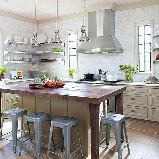 Kitchen Islands With Push In Seats