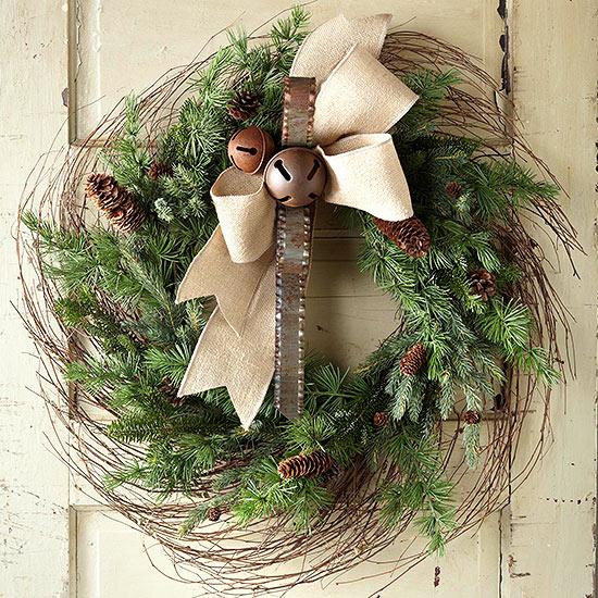 How to Make a Birch Branch Wreath