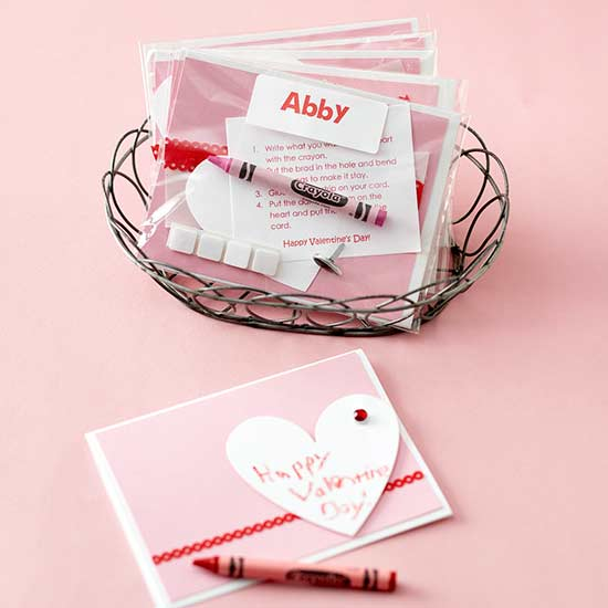 Make Your Own Valentine S Day Cards Kit