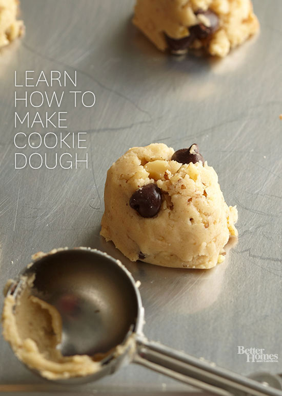 How to Make Cookie Dough