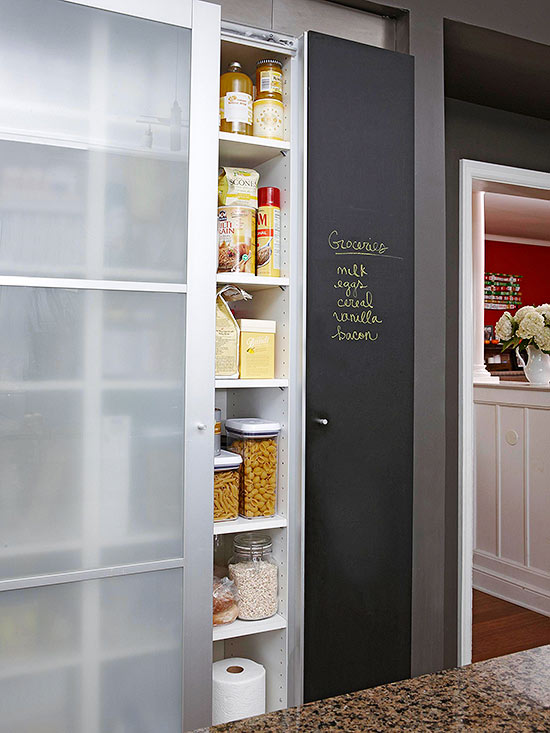 Fun Ways To Dress Up A Pantry Door
