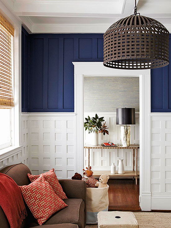 Attractive Textured Wall Ideas Part - 6: Distinctive Molding