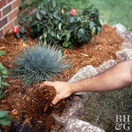 Use Organic Garden Soil And Mulch