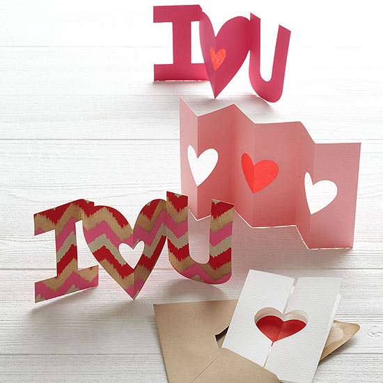 Handmade Valentine\'s Day Cards