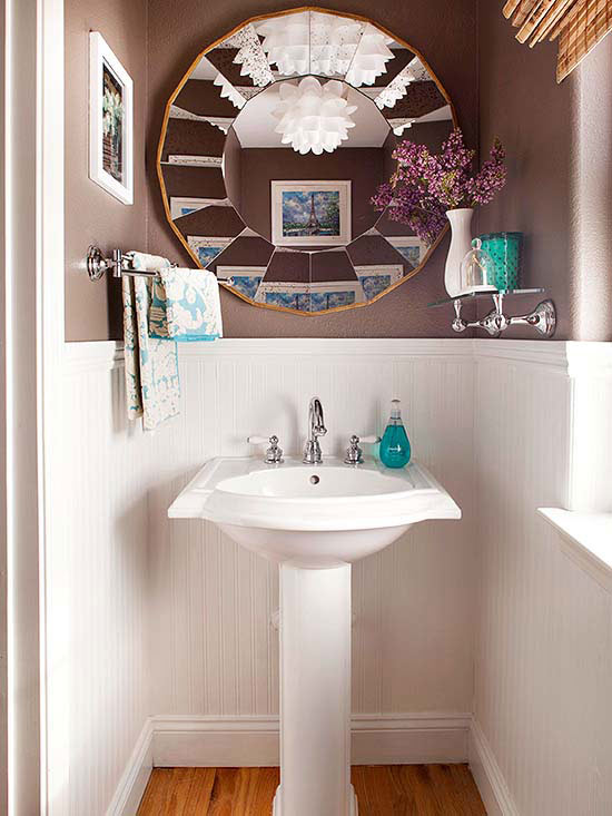 Bathroom Refresh Decoration low-cost bathroom updates