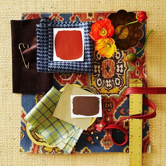 Designer Color Palette: Cozy Getaway