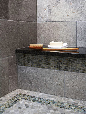 Idea Use Bathroom Shower Tile Patterning To Add Visual Interest