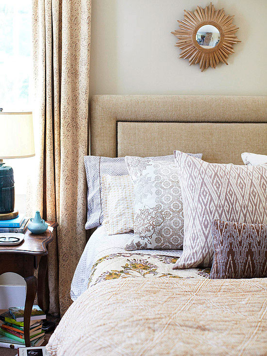 Bedroom Ideas Neutral Part - 43: Play With Pattern