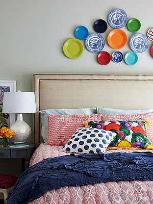Elegant Bright And Colorful Bedroom Ideas