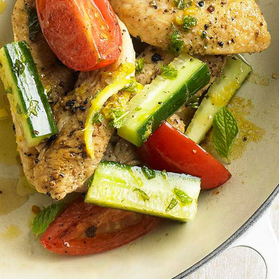 Zesty greek chicken with mint forumfinder