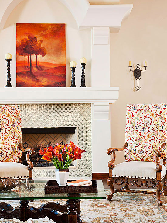 all in the details - Fireplace Tile Design Ideas