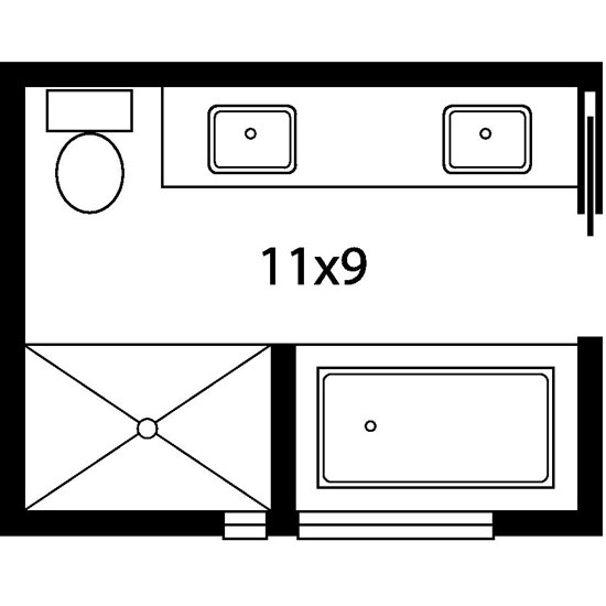 Interior Master Bathroom Dimensions master bath floor plans