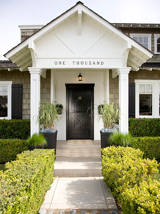 5 knockout styling ideas for your front door better homes \u0026 gardensExterior Front Entry Ideas #11