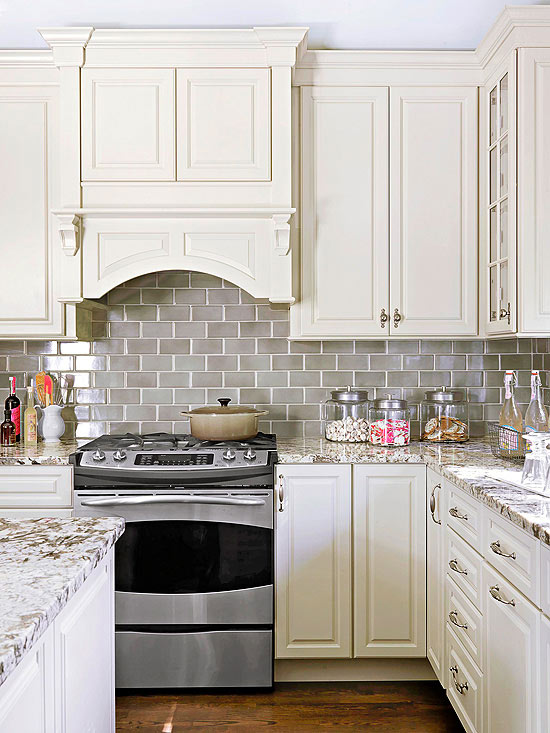 Tile Countertop Ideas Kitchen Part - 33: Natural-Stone Kitchen Countertops