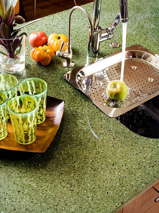 Recycled Material Countertops