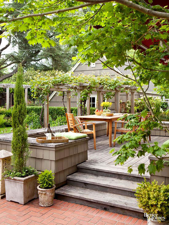 Small + Simple Outdoor Living Spaces on Simple Outdoor Living id=51794