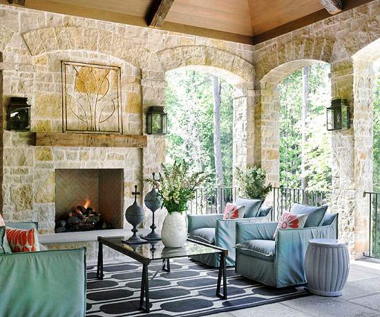 Fireplace styles and design ideas better homes and gardens for Better homes and gardens fireplace