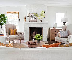Living Rooms with Open Floor Plans