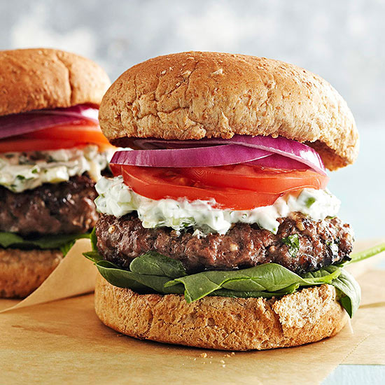 Chicken Spinach Feta Burgers From Whole Food