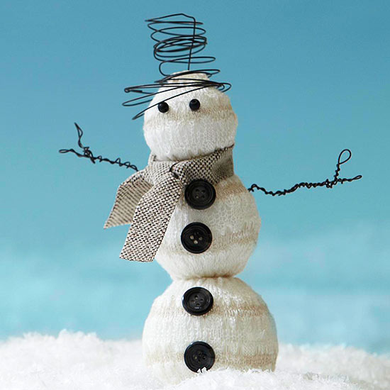 Make a Sweater Snowman