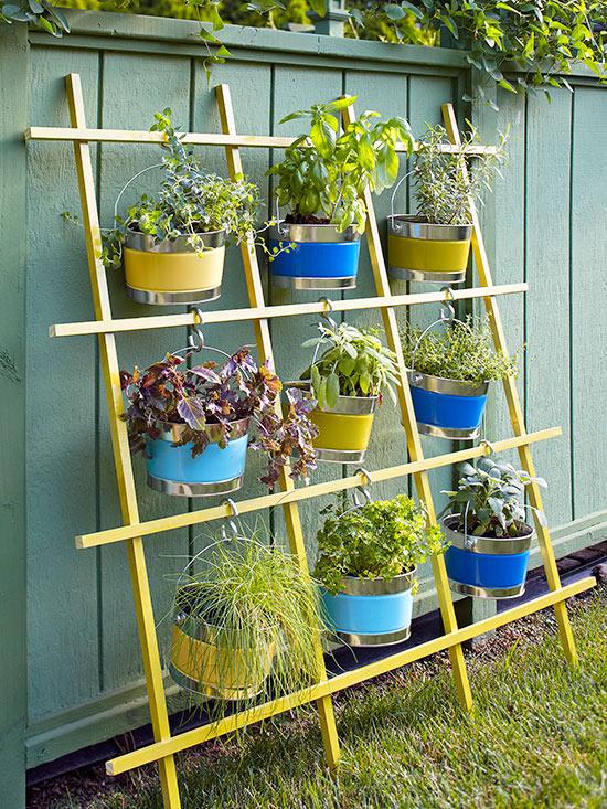 Trellis Vertical Container Garden