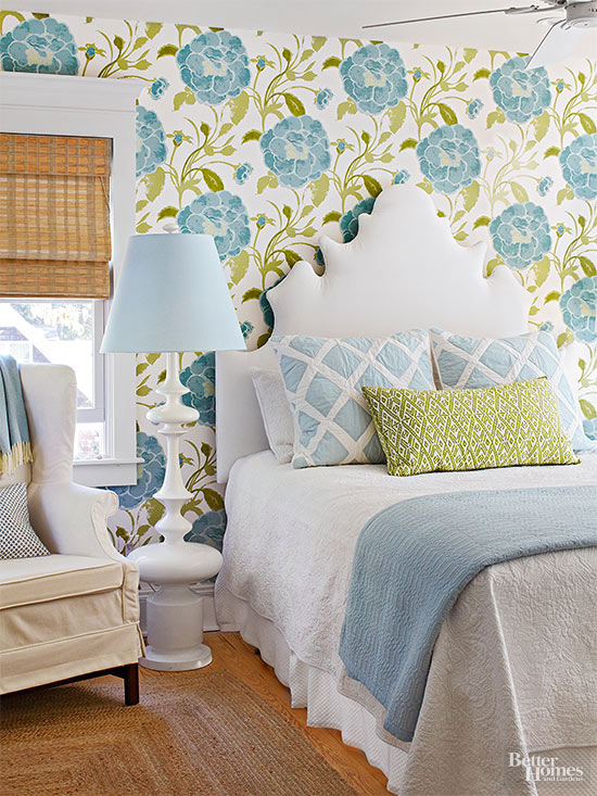 Learn How To Mix Patterns - Design patterns for bedroom interiors