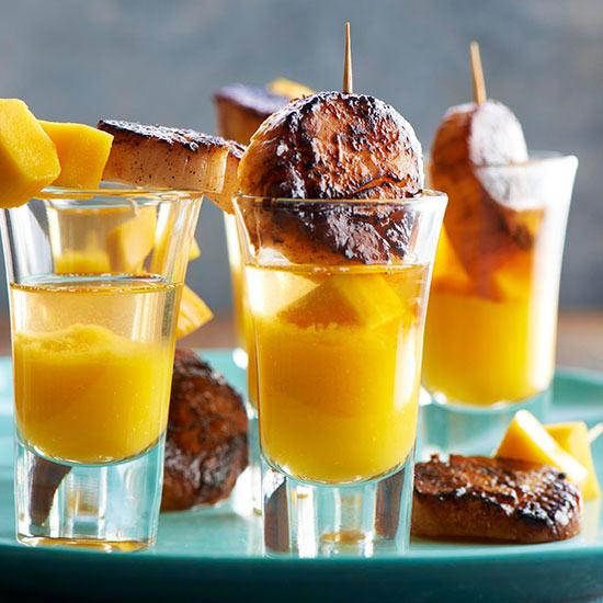 Tequila recipes seared scallop tequila shooters forumfinder Choice Image