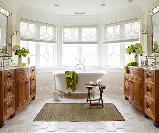 Traditional style dream bathroom for Dream bathrooms