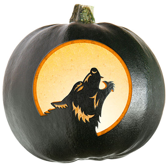 Mythical Creatures Pumpkin Stencils