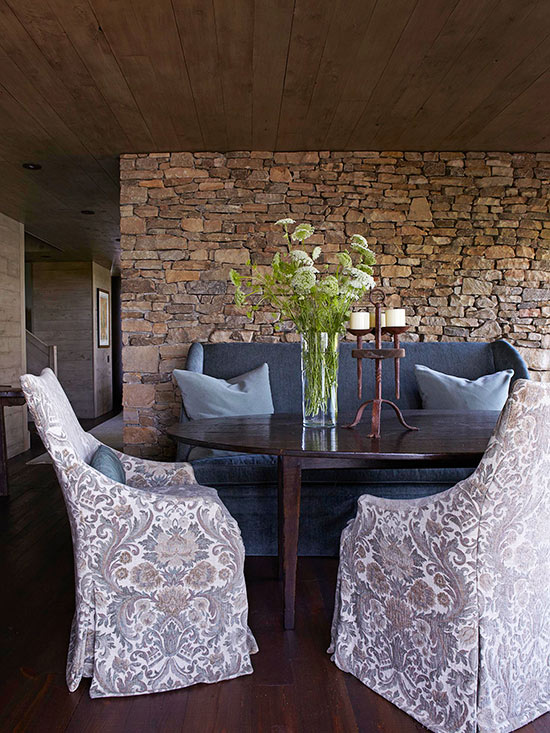 Fresh dining room decorating ideas better homes for Comedores contemporaneos