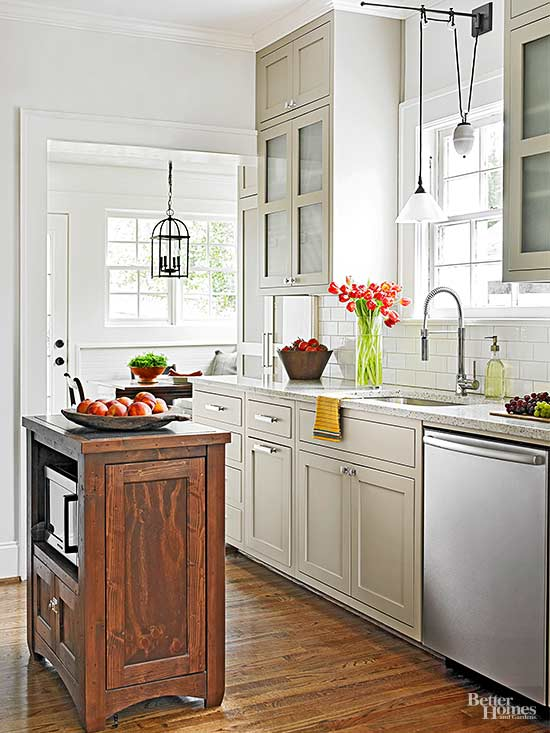 Best colors for small kitchens for Small kitchen colors